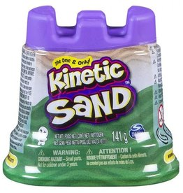 Spin Master Kinetic sand- contenant simple- vert