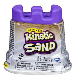 Spin Master Kinetic sand- contenant simple- blanc