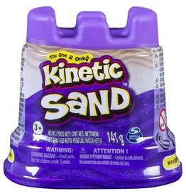 Spin Master Kinetic sand- contenant simple- mauve
