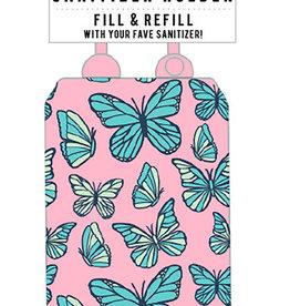 Fashion Angels Porte bouteille désinfectant à mains - Papillons