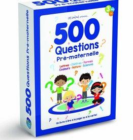 MEGA EDITIONS 500 Questions Pré-maternelle