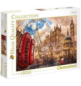 Clementoni Londres d'autrefois - 1500pcs