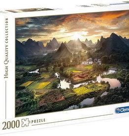 Clementoni Vue de Chine - 2000pcs