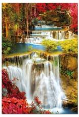 Educa Chutes d'eau dans la forêt - 1000pcs