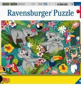 Ravensburger Koalas et paresseux  2x24pcs