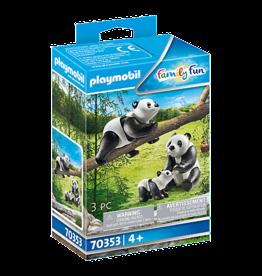 Playmobil 70353 Couple de pandas avec bébé
