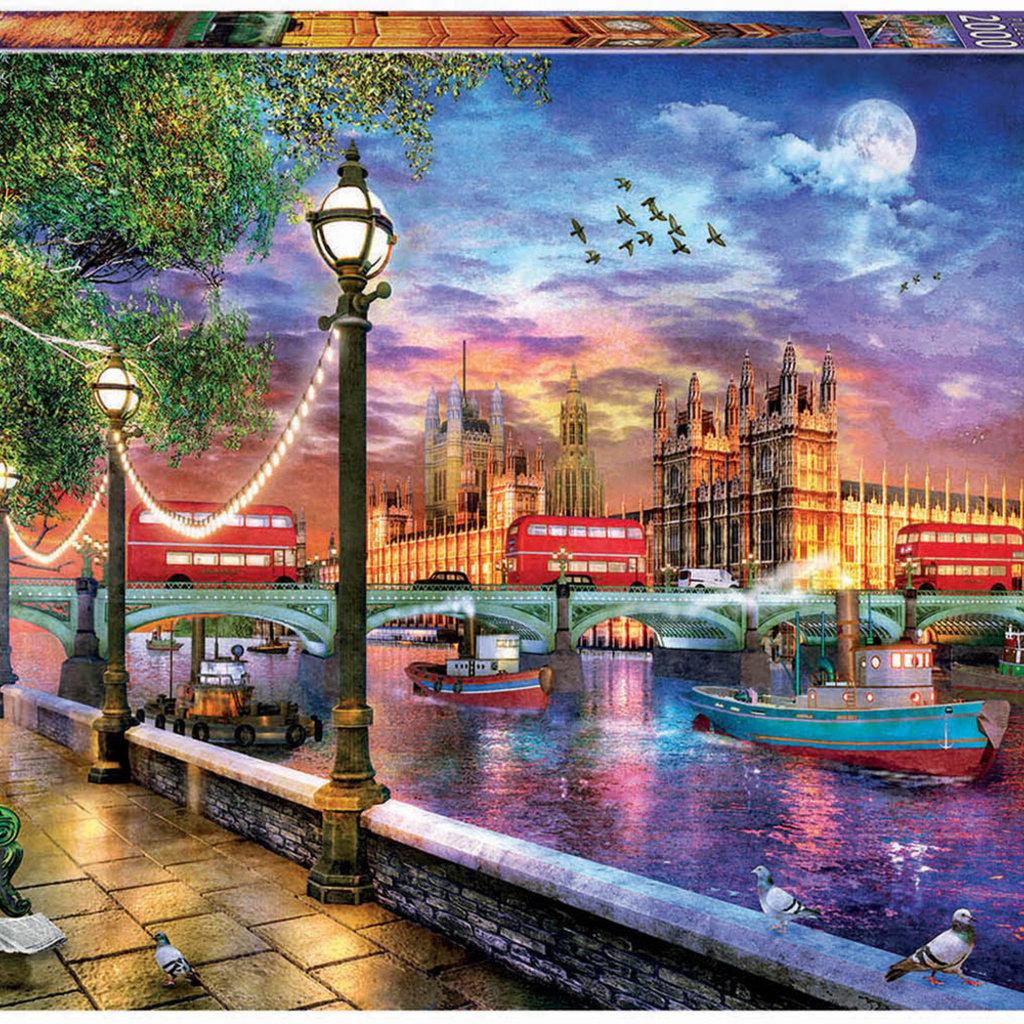 Educa Casse-tête 2000 pièces -Londres au couche du soleil