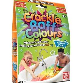 Zimpli Kids Crackle baff colors