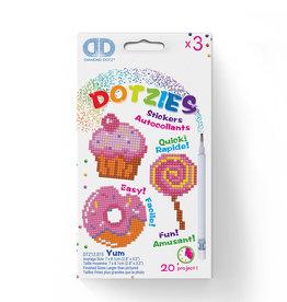 Diamond Dotz Dotzies - Autocollants Yum