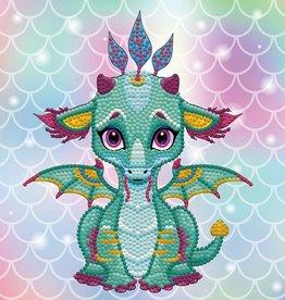 Diamond Dotz Doz box - Ariel le Petit Dragon -Medium