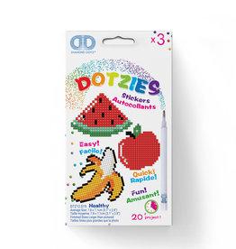 Diamond Dotz Dotzies - Autocollants Healthy