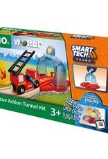 Brio Tunnel Smart Tech Sound et accessoires pompiers