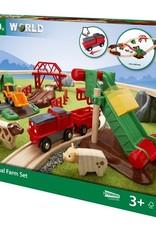 Brio Circuit de la ferme et locomotive à pile