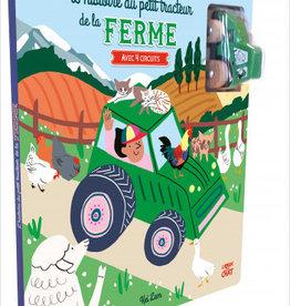 LANGUE AU CHAT L'histoire du petit tracteur de la ferme: avec quatre circuits