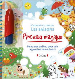 GRUND Pinceau magique :Les saisons: cherche-et-trouve