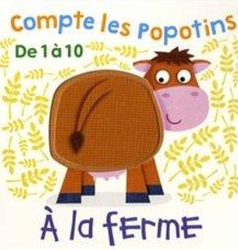 Tiny & Tim Compte les popotins  de 1 à 10 - À la ferme