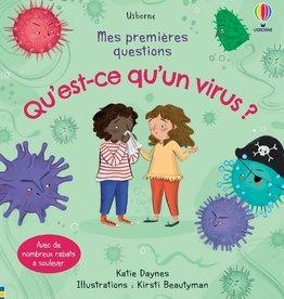 USBORNE Mes premières questions : Qu'est-ce qu'un virus ?
