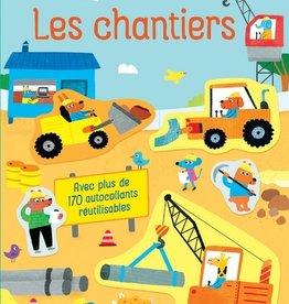 USBORNE Mes petits autocollants Usborne : Les  Chantiers