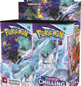 The Pokemon Company -  Sword & Shield Chilling Reign Booster( anglais)
