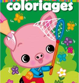 HEMMA Mon premier bloc de coloriages : Cochon
