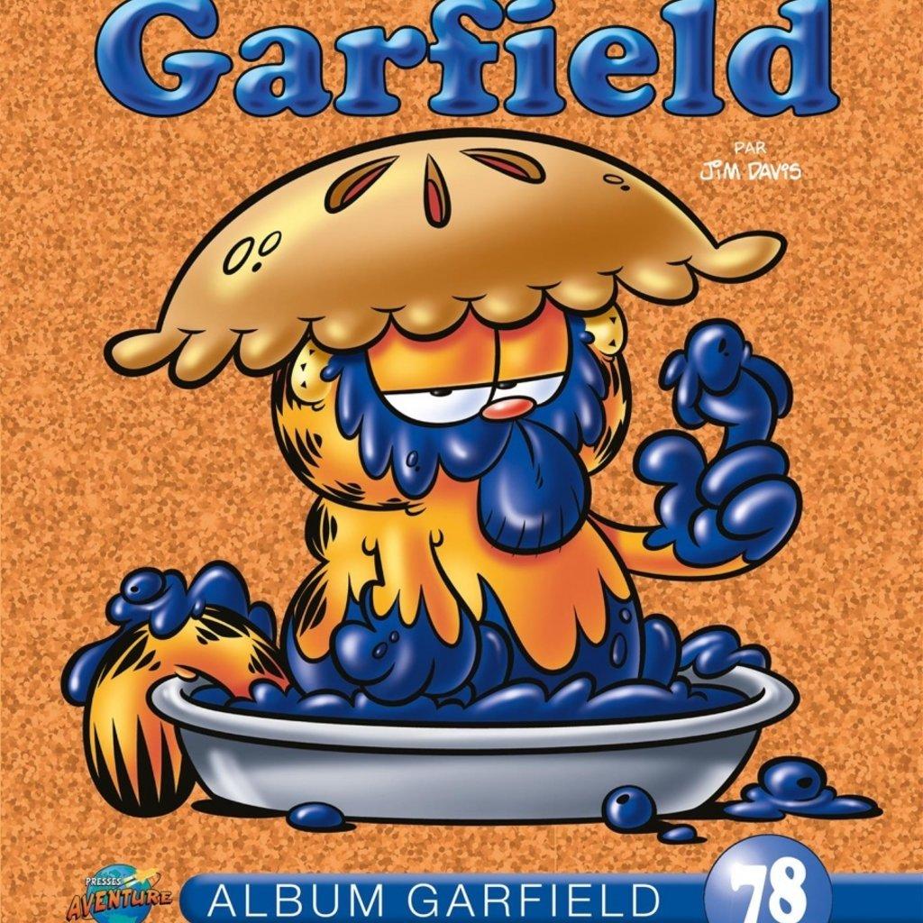 PRESSES AVENTURE Album Garfield T.78: Album Garfield