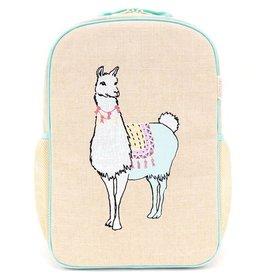 SoYoung Sac à dos Groovy Llama pour l'école primaire