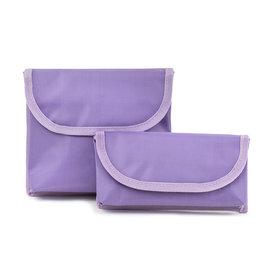 Cleo Ensemble de pochette a sandwich et collation - Violet