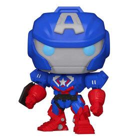 Funko Pop ! Marvel Mech Captain America
