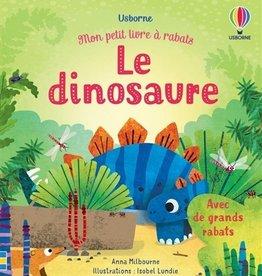 USBORNE Mon petit à rabats : Le dinosaure