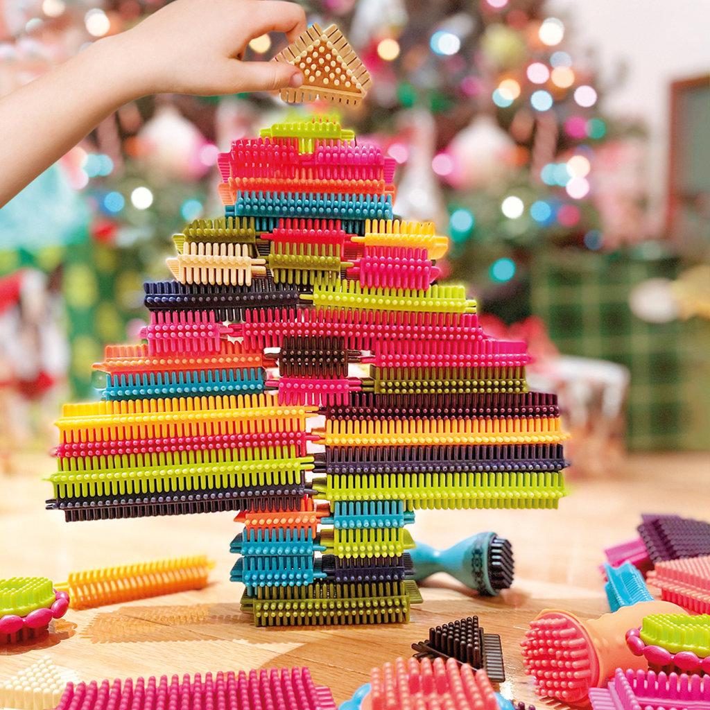 Battat Toys - Bristle Block - Stackadoos