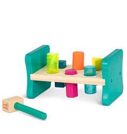 B. B.Woody - Petit établi en bois coloré tape-joue