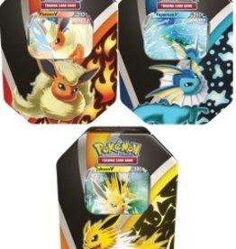 The Pokemon Company Pokemon V tin Eevee evolutions
