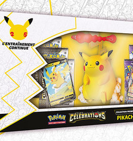 The Pokemon Company Pokemon celebrations :Figurine Pikachu Vmax