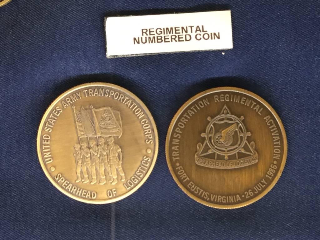 AMERICAN AWARDS, LLC REGIMENTAL, NUMBERED