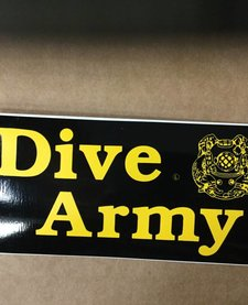 DIVE ARMY STICKER