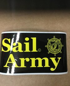SAIL ARMY STICKER