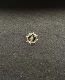 LAPEL PIN, TC, SILVER