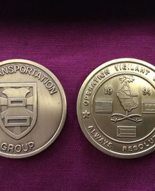 7th TRANSPORTATION GROUP COIN