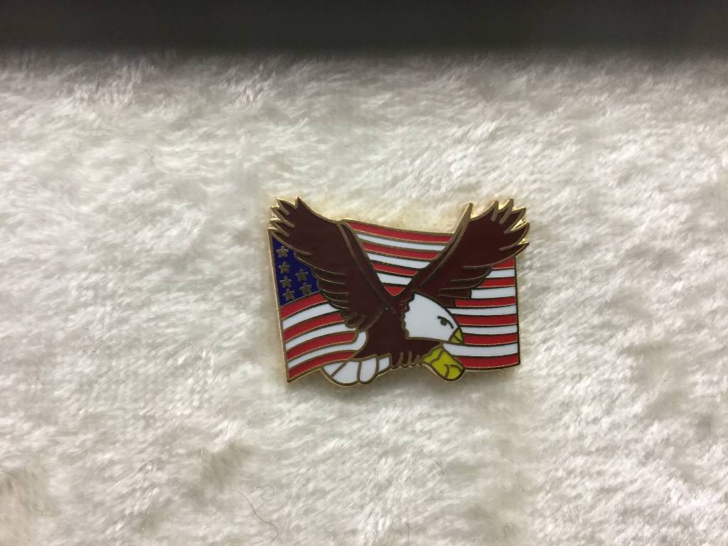 HOOVER'S MFG CO. EAGLE & FLAG