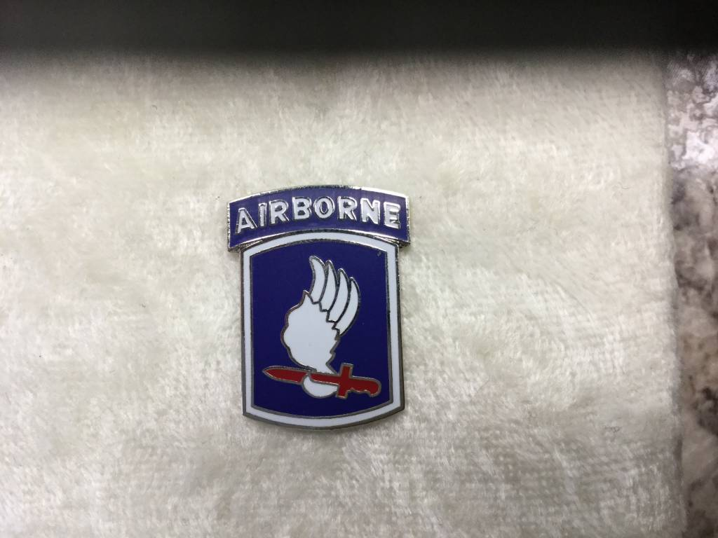 HOOVER'S MFG CO. 173rd AIRBORNE BDE
