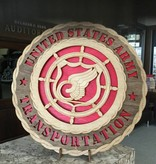 CUSTOM LASER ACCENTS TRANSPORTATION PLAQUE LARGE