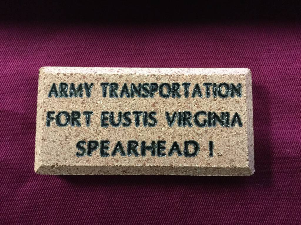 BRICK MARKERS USA FORT EUSTIS MINI BRICK