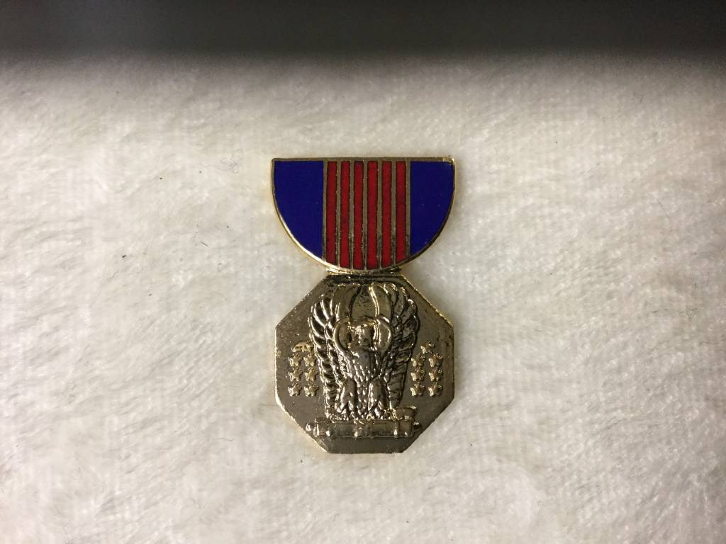 HOOVER'S MFG CO. SOLDIER MEDAL