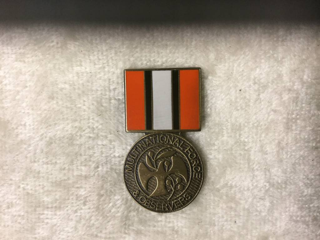 HOOVER'S MFG CO. MULTI NATIONAL FORCES MEDAL