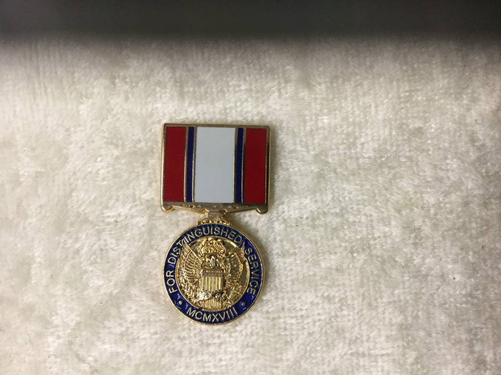 HOOVER'S MFG CO. DIST SVC MEDAL