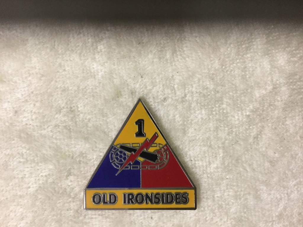 HOOVER'S MFG CO. 1st ARMORED DIVISION