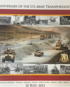 70th TRANSPORTATION ANNIVERSARY PRINT