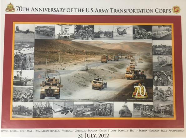 CARDWELL PRINTING 70th TRANSPORTATION ANNIVERSARY PRINT