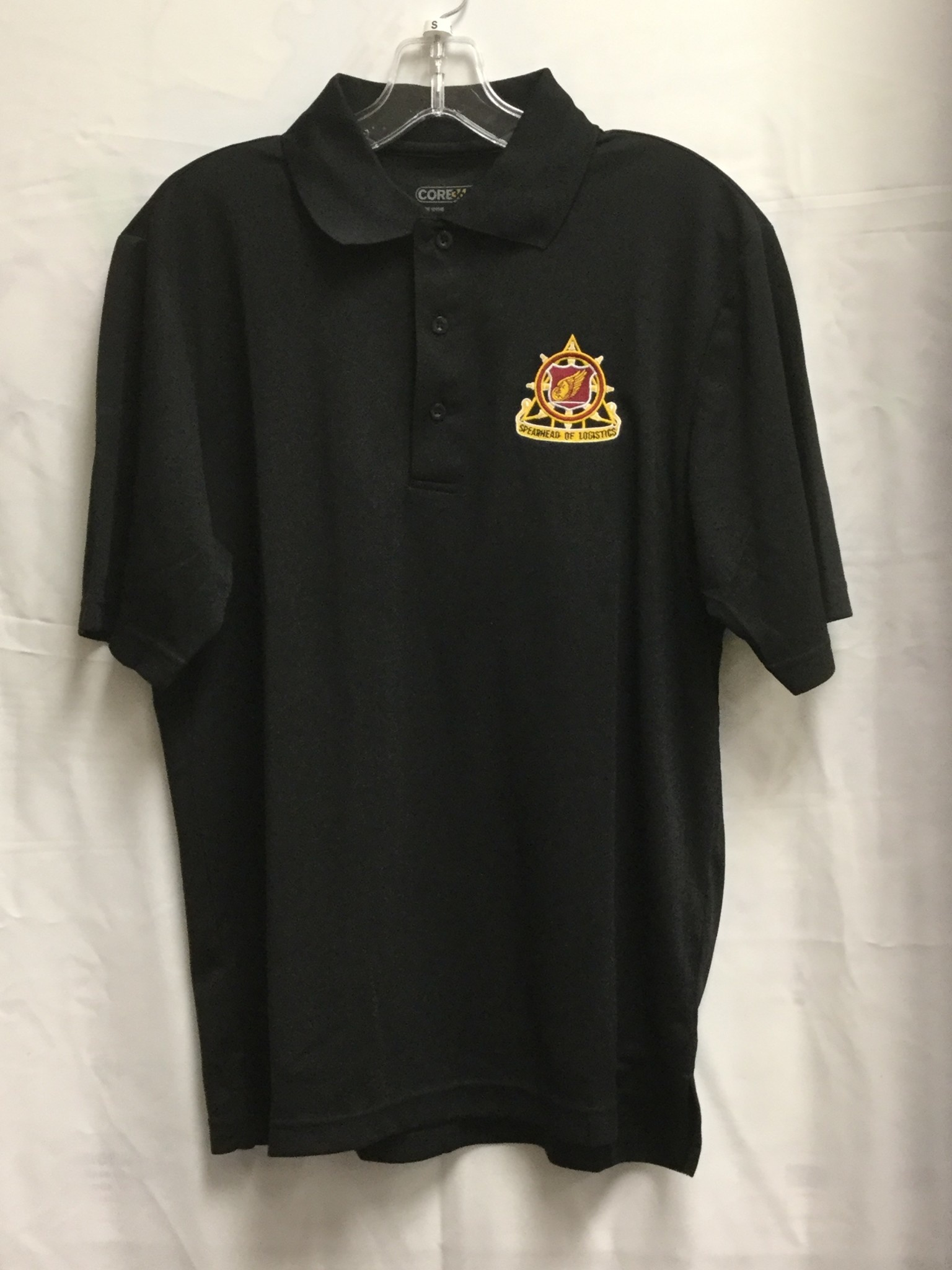 GOLF REGT BLACK 3XL