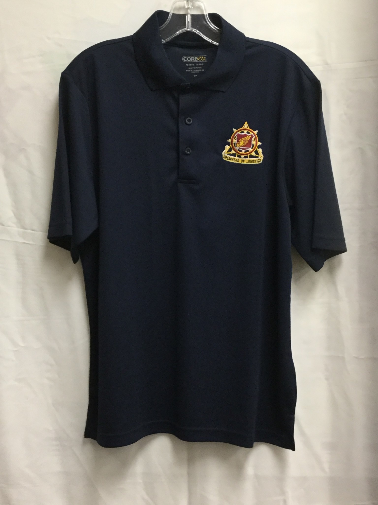GOLF REGT NAVY 2XL